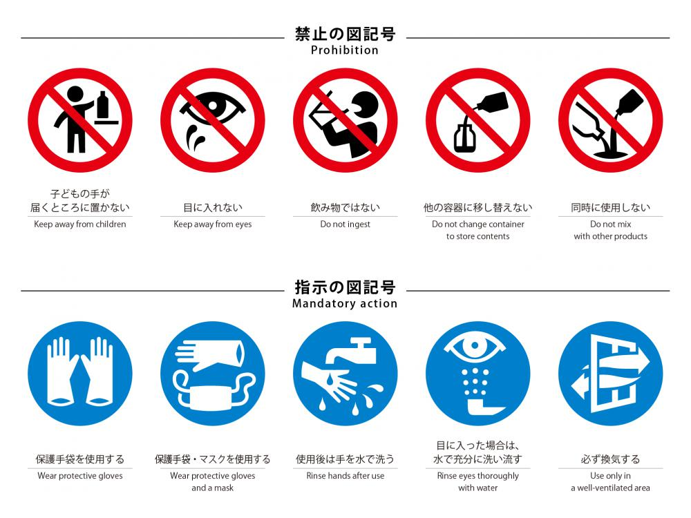 "New ""JSDA Safety Icons for consumer products"""