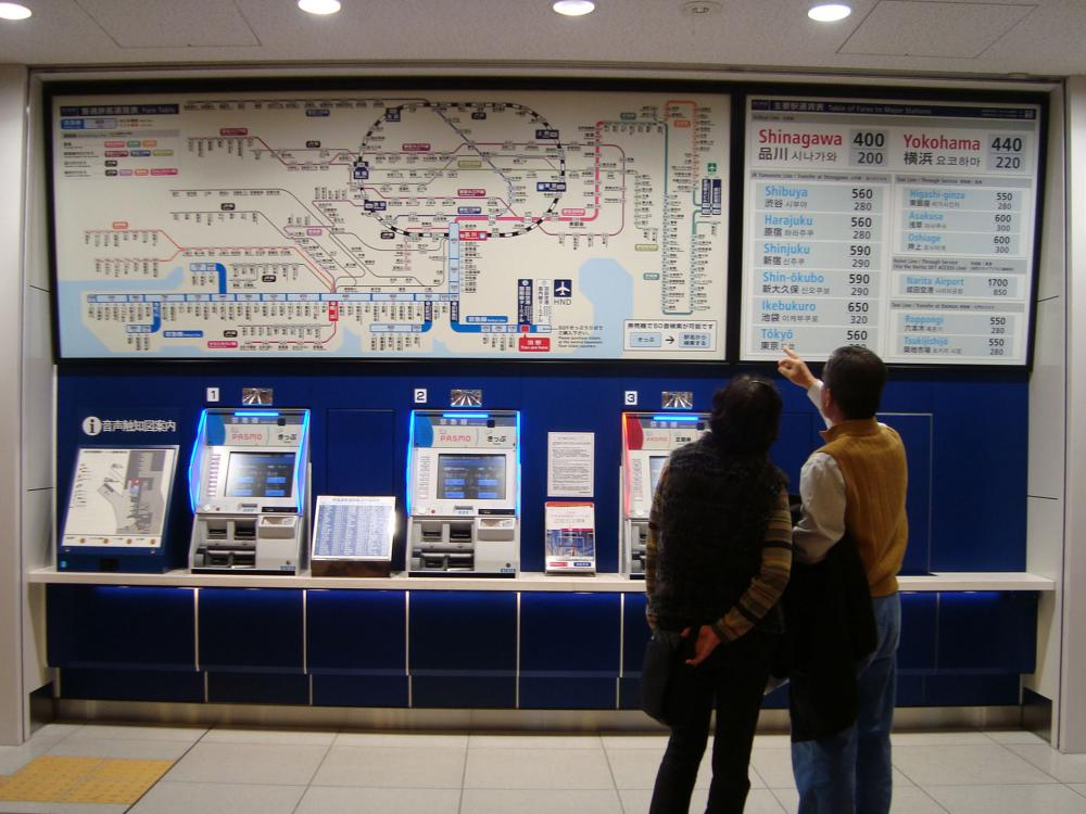 The fare information map